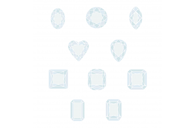 A Diamond Shape Infographic