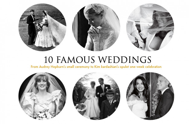 10 Famous Celebrity Weddings