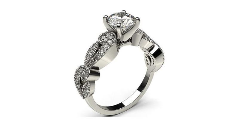 edwardian vintage style rings