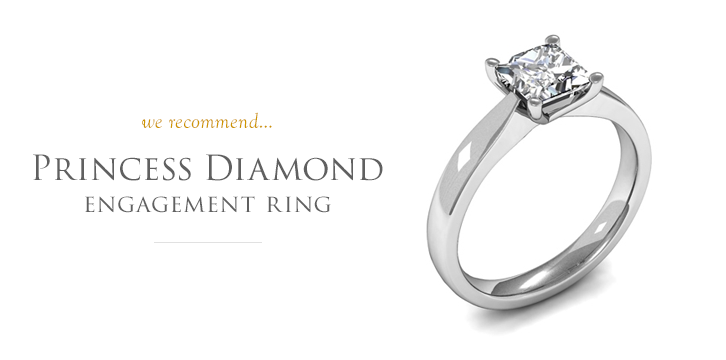 Princess Diamond Engagement Rings