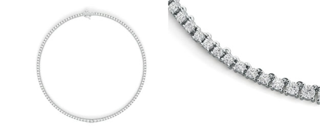 Diamant Collier