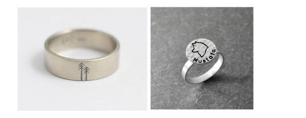 Ten Romantic Wedding Ring Engraving Ideas