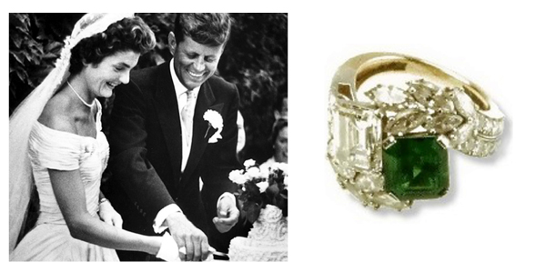 Jacqueline Kennedy - Open Halo Ring