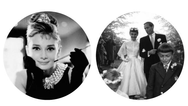 Audrey Hepburn and Mel Ferrer Wedding