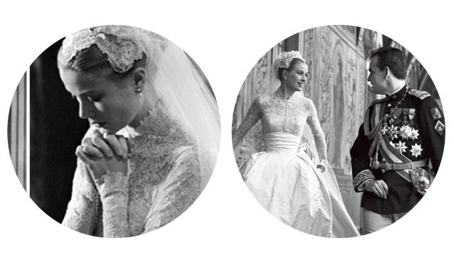 Grace Kelly and Prince Rainier Wedding