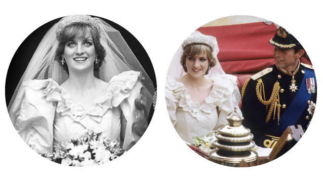 Lady Diana Spencer and Prince Charles Wedding