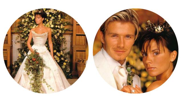 Victoria Adams and David Beckham Wedding