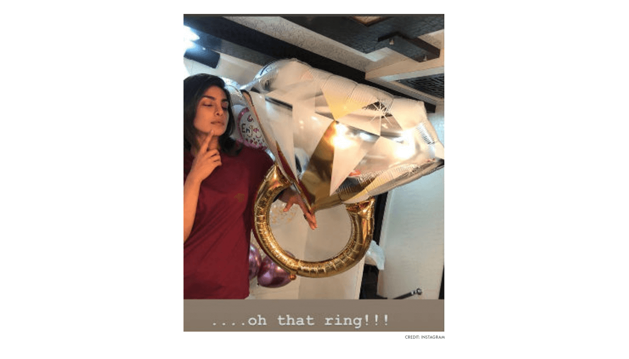 Priyanka Chopra - Nick Jonas - Engagement