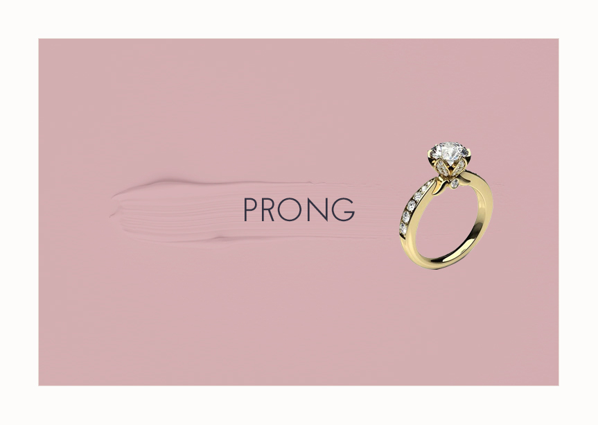 Engagement Ring Prong Setting