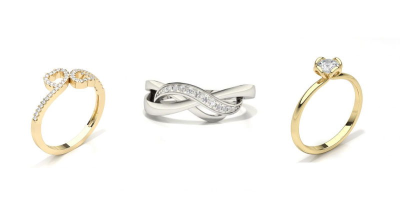 pre engagement ring styles