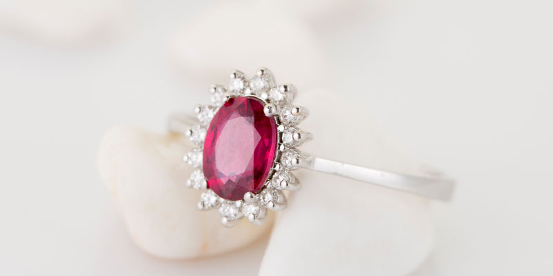 ruby engagement ring meaning