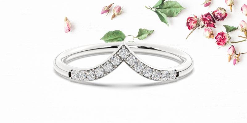 wishbone rings