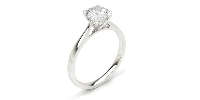 diamant solitär verlobungsring