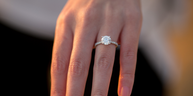 diamond engagement ring for proposal
