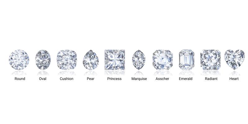 diamond ring shapes