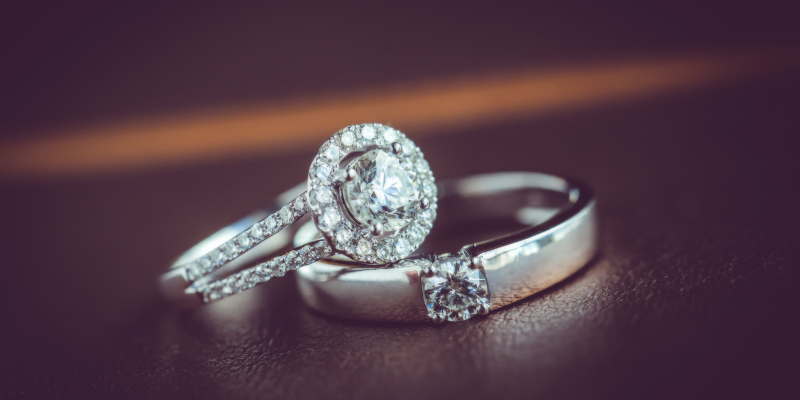 engagement rings for men and women