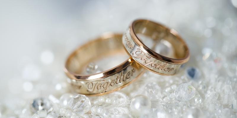 engraved partner rings