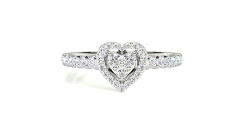 herzförmiger diamant verlobungsring