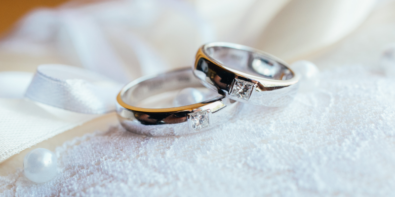 partner rings with diamonds