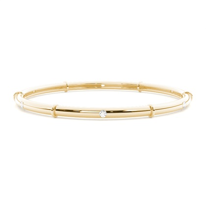 Yellow Gold Bangles Bracelets
