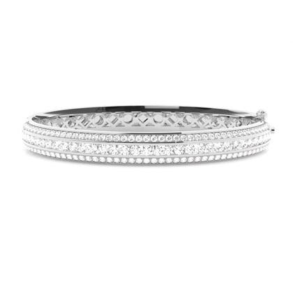Platinum Diamond Bangles Diamond Bracelets