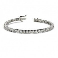 4 Prong Setting Tennis Bracelet - CLBR1_01