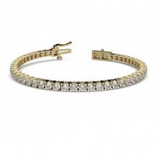 4 Prong Setting Tennis Bracelet - CLBR1_01