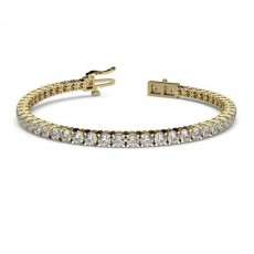 Bracelets Diamants en Or Jaune