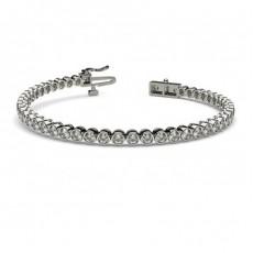 Full Bezel Setting Tennis Bracelet