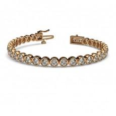 Full Bezel Setting Tennis Bracelet - CLBR2_01
