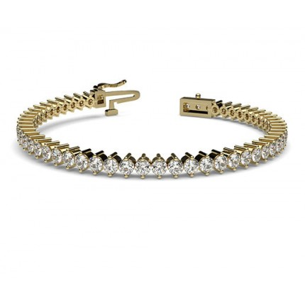 Bracelet tennis serti griffes