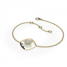 Yellow Gold Delicate Bracelet