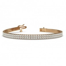 Rose Gold Tennis Bracelet
