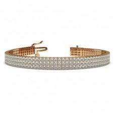 Princess Rose Gold Bracelets