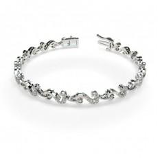 Silver Designer Bracelet