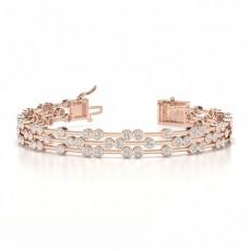 Or Rose Bracelets Tendances