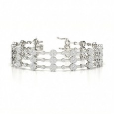Brilliant Versandbereite Diamant Armbänder