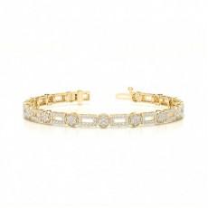 Yellow Gold Designer Bracelet