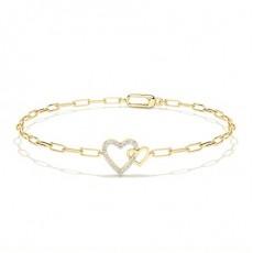Or Jaune Bracelets délicats