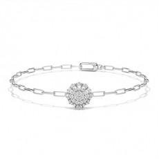 White Gold Everyday Diamond Bracelets