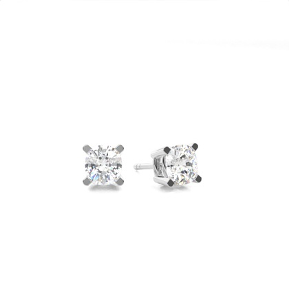 Kissen Diamant Ohrringe