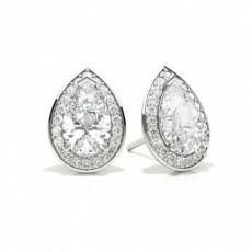 Tropfen Diamant Ohrringe