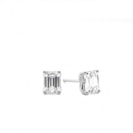 Diamant Ohrstecker in einer Krappenfassung