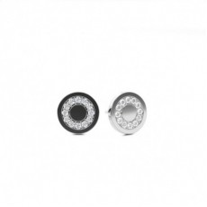White Gold Round Diamond Designer Earring - CLER113_01