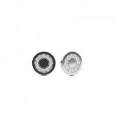 Silver Boucles d'oreilles en grappe