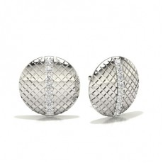 Brilliant Platin Diamant Designer Ohrringe