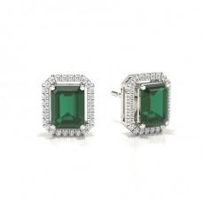 Emerald Emerald Earrings