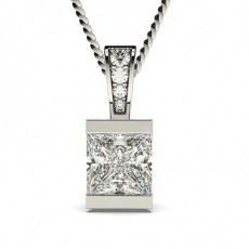 Bar Setting Solitaire Pendant - CLPD1_01