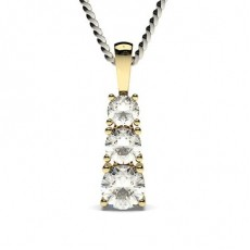 Or Jaune Chute de diamant