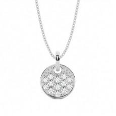 Silver Circle Pendants
